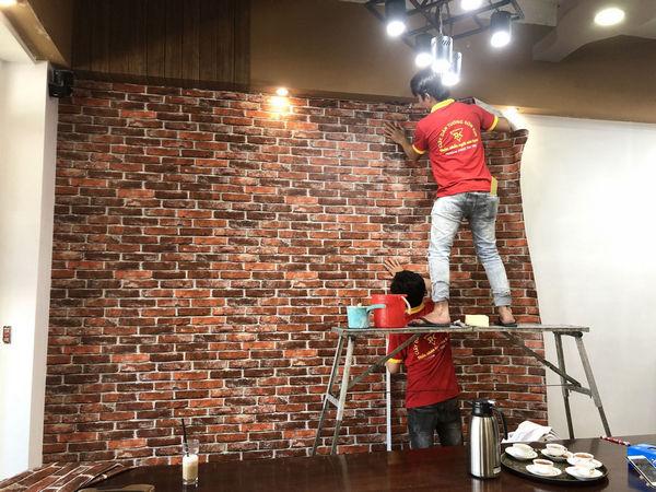 Đơn vị thi công giấy dán tường quận 6 chất lượng nhất thành phố Hồ Chí Minh