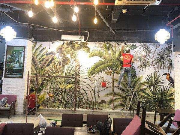 Địa chỉ mua tranh dán tường Quận Tân Bình chất lượng nhất?