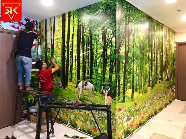 Địa chỉ mua tranh dán tường Quận Tân Bình chất lượng nhất