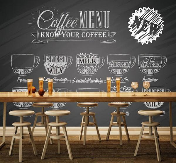 Những lợi ích khi sử dụng tranh dán tường trang trí quán cafe