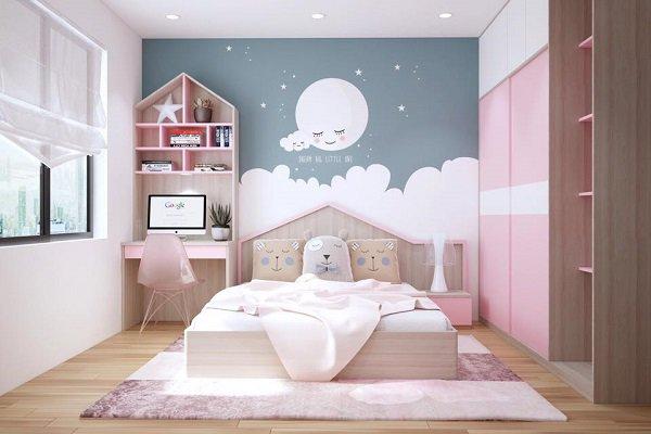Bỏ túi ngay bí quyết chọn giấy dán tường đẹp cho phòng ngủ nhỏ