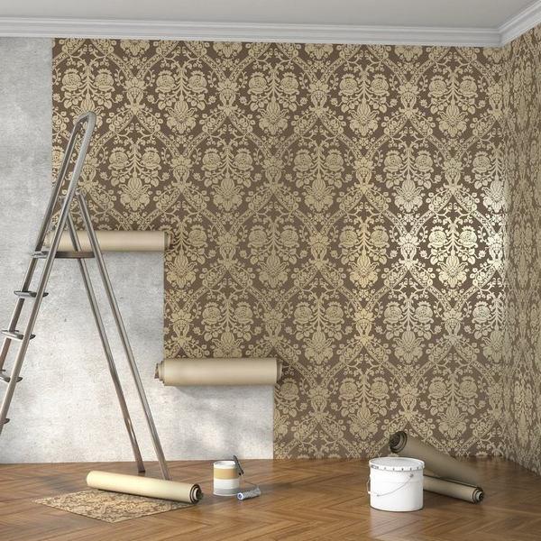 Xét về tính thẩm mỹ của giấy dán tường và sơn tường
