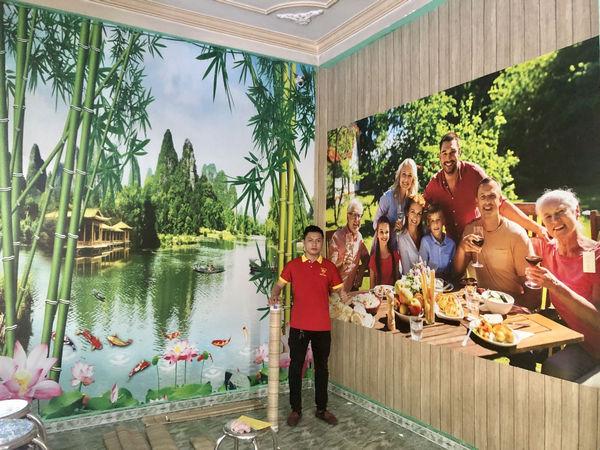 Dịch vụ thi công Giấy dán tường tại Quận 1 - Thành phố Hồ Chí Minh