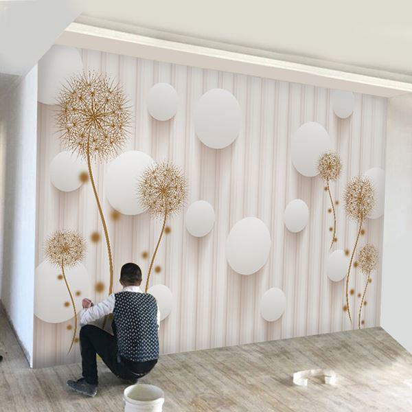 Giấy dán tường màu trắng đem lại cho không gian sống của bạn sự mới mẻ