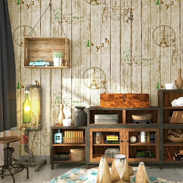 Giấy dán tường vintage thay đổi không gian của bạn trở nên tuyệt vời