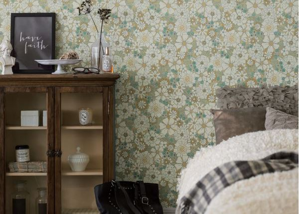 Giấy dán tường vintage xu hướng mà bạn không thể bỏ qua