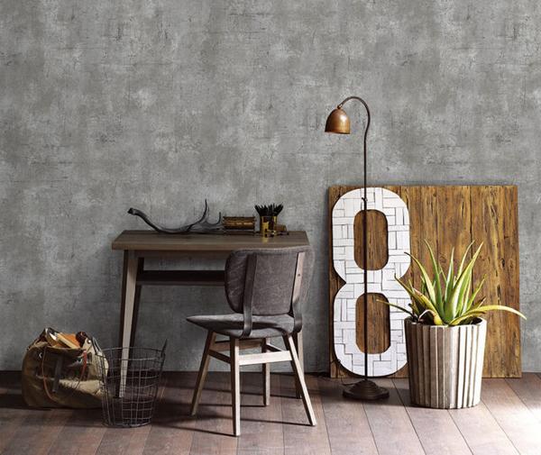 Giấy dán tường xi măng - giấy dán tường dành cho các tín đồ yêu thích sự độc đáo