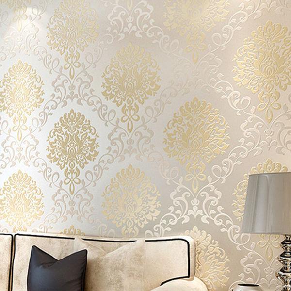 Thay đổi không gian sống của bạn với giấy dán tường màu vàng