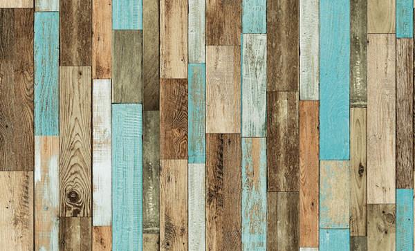 Những lý do giấy dán tường vân gỗ được yêu thích
