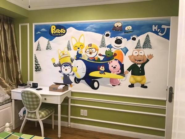 Hướng dẫn cách chọn mua giấy dán tường phòng ngủ trẻ em