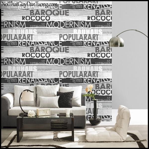 Giấy dán tường màu đen mang lại sự khác biệt tinh tế cho không gian của bạn
