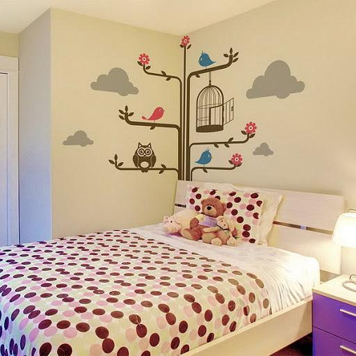 Bí quyết chọn tranh dán tường 3d phòng ngủ phù hợp